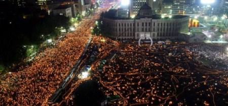 촛불 집회 - 광화문 광장