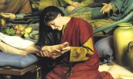 예수님 발에 향유 부은 여인
