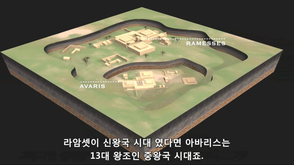 이스라엘 백성의 정착지 라암셋과 아바리스