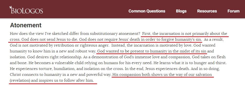 바이오 로고스 유신 진화론 - 하나님은 십자가를 계획하지 않았다