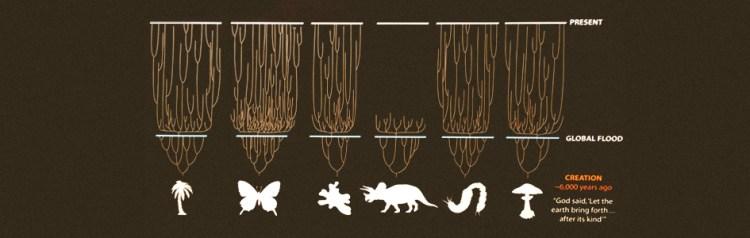 생명 나무 - 창조론의 근거