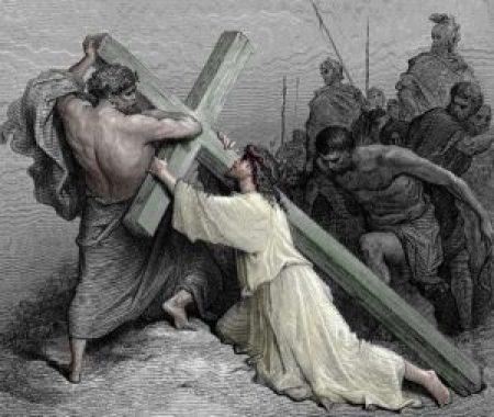 십자가를 지고 간 것은 예수님인가 구레네 사람 시몬인가? - 성경의 오류?