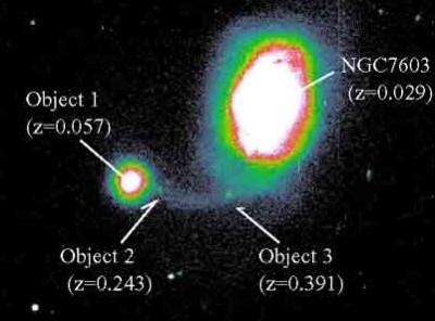 적색편이 NGC7603