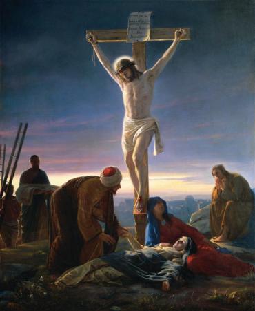 예수님 부활의 첫번째 증거 - 십자가에 달리심