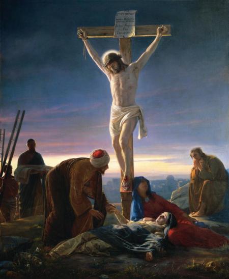 십자가에 달리신 예수님 - 부활에 대한 가설들이 잘못된 증거