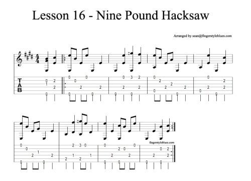Nine Pound Hacksaw