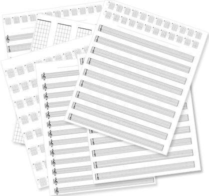 Free Tab Paper image