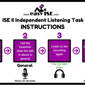 ISE II Trinity Independent Listening Instructions