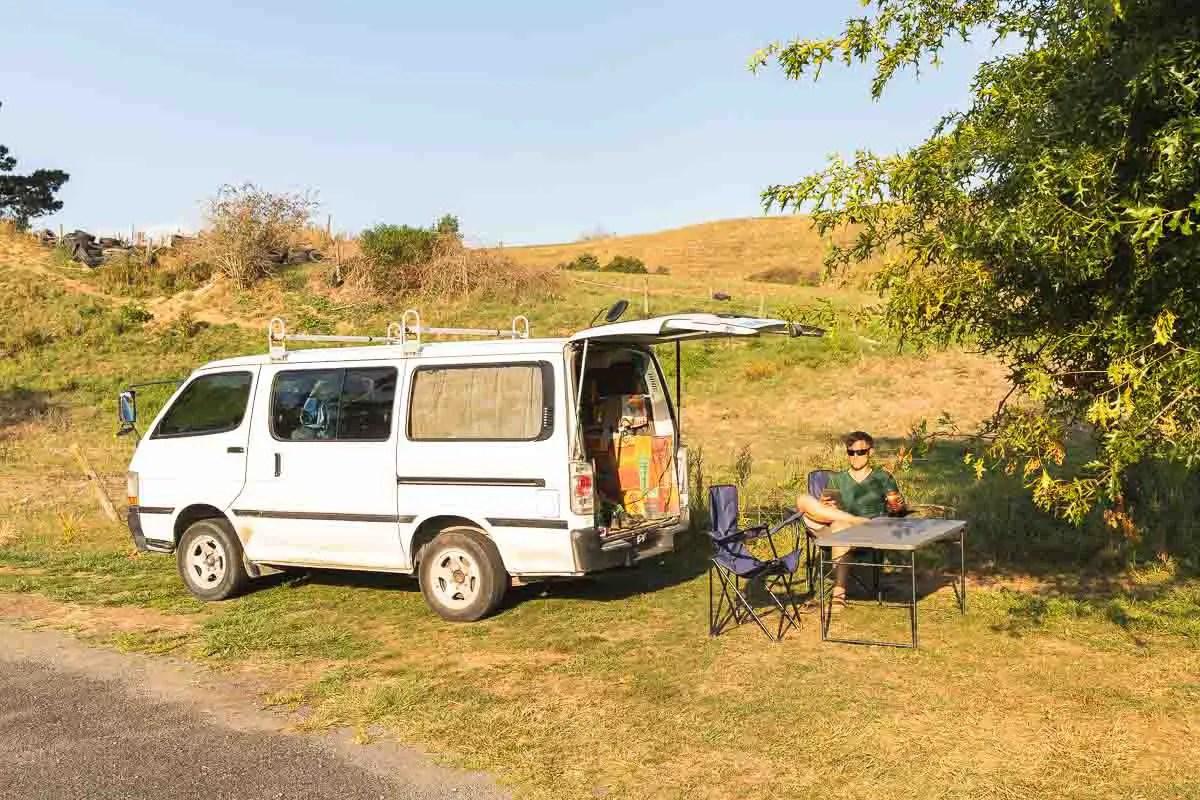 Freedom Camping at Jones Landing
