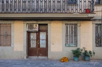 A door in Barcelona