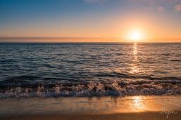 Nazare Sunset Waves