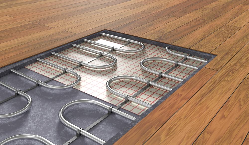 radiant floor heating in basements