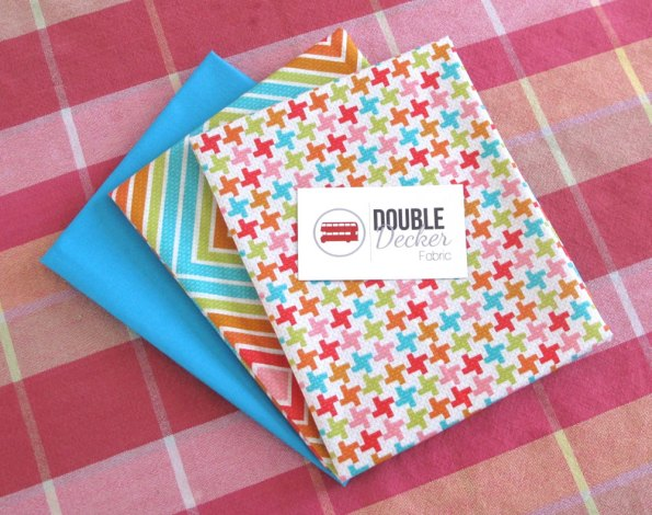 A gift from Double Decker Fabric.