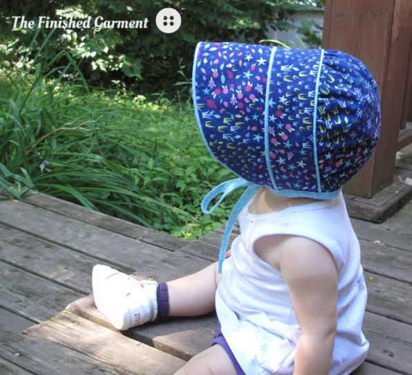 Peekaboo Bonnet Sewing Pattern from Made by Rae
