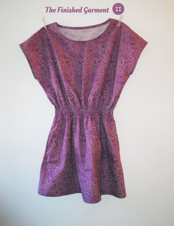 The Staple Dress is Bromley voile from Warp & Weft, sewn by Shannon of The Finished Garment.