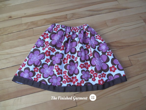 Lady Days Skirt sewing pattern by Oliver + S, as sewn by The Finished Garment