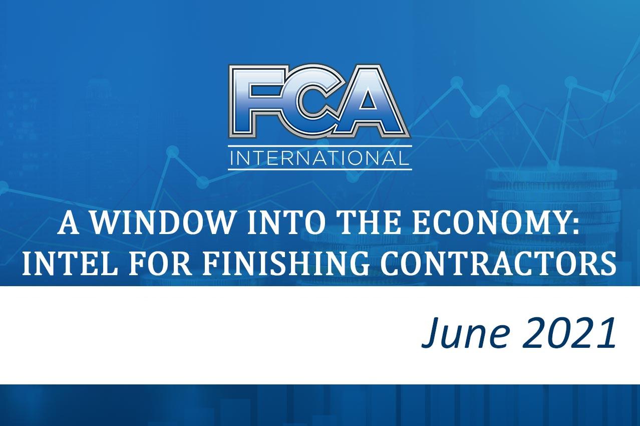 FCA News Image: Economic Update - June 2021