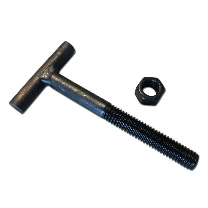 t bolt for header flange and exhaust pipe 3 8 16 3 1 2