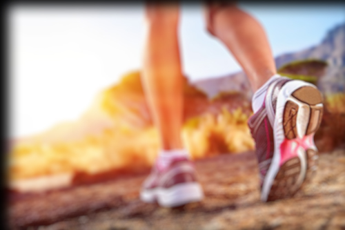 18911557 - athlete running sport feet on trail healthy lifestyle fitness