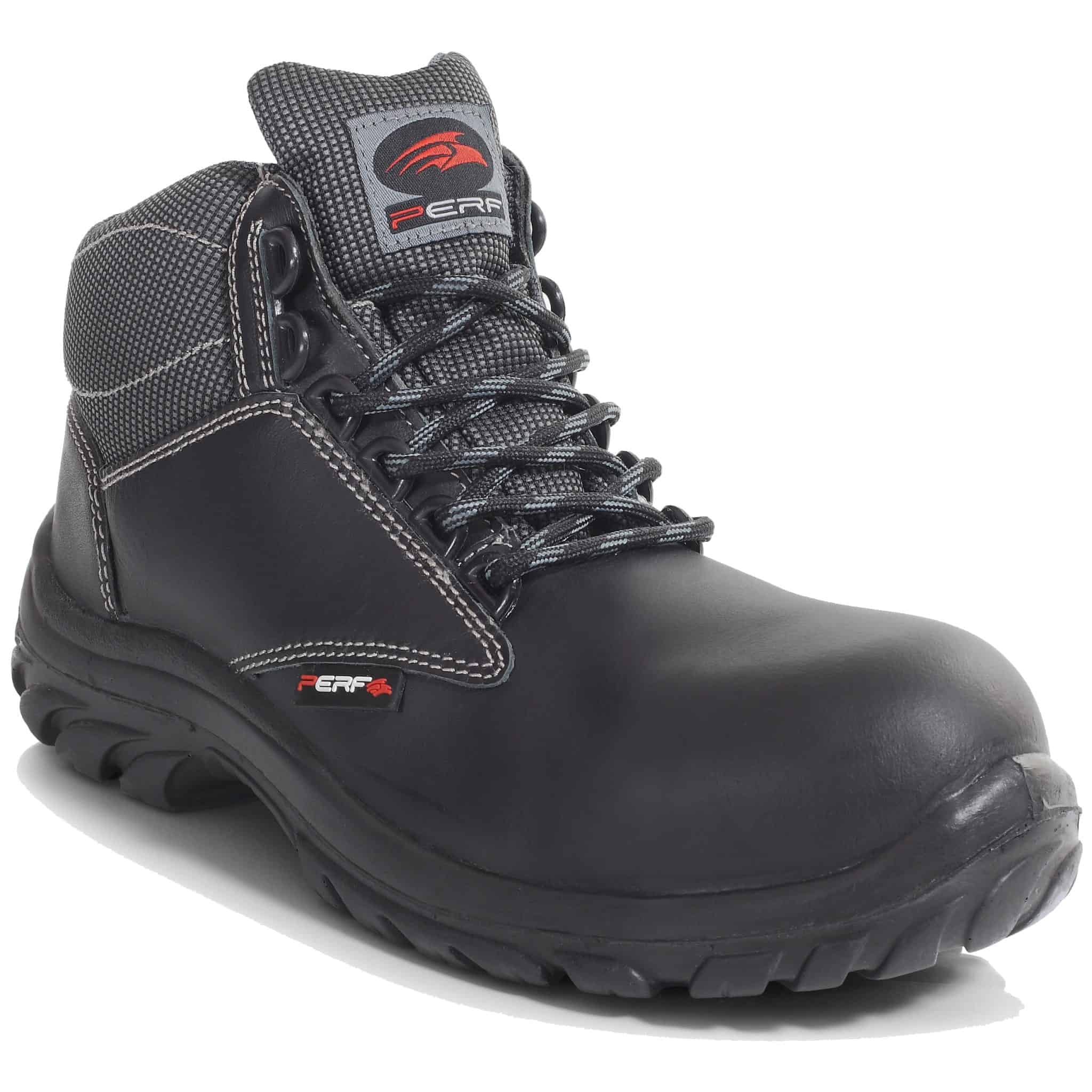 PB110-BLGY – Lightweight Non-Metal S3 SRC PU Safety Hiker Boots
