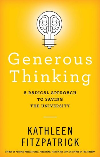 Generous Thinking cover