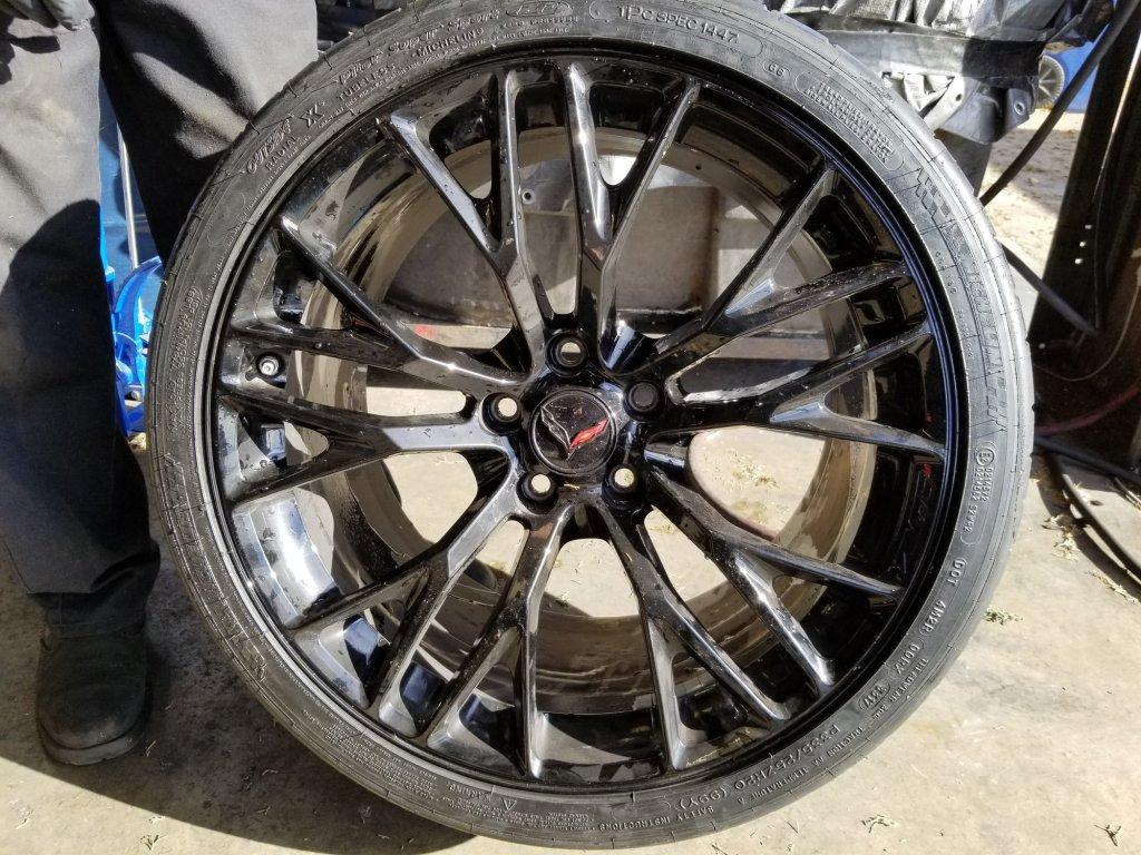 General Motors Corvettes May Have Defective Rims