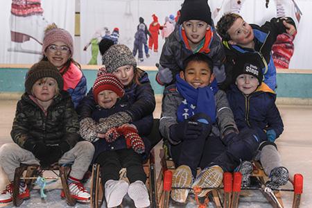 Kinderfeest-schaatsen-sleeen