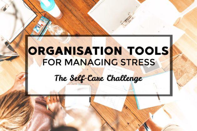 Stress management using organisation tools
