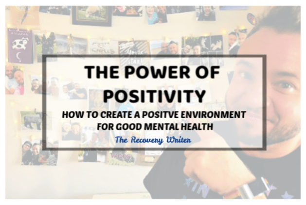 How to create a positive environment for mental wellbeing  picture of a decorative wall hanging made with wire string lights