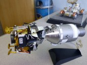 This photo is from the old office, but the Apollo 11 model's still on my desk