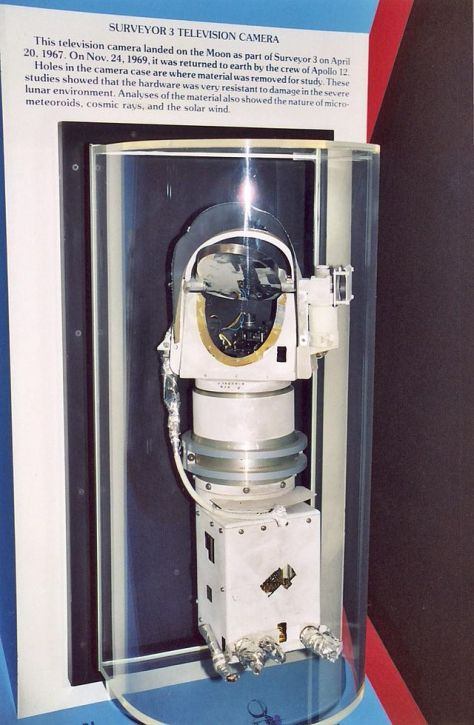 Surveyor 3 TV camera