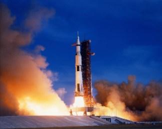 Apollo 15 launch