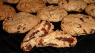 NY Times chocolate chip cookies in my kitchen