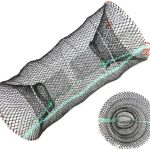 Best Small Collapsible Trap. The most portable bait fish trap design. Maintains durability.