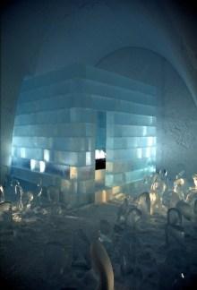 Icehotel Icecube Suite, 2005   Foto Luca Roncoroni