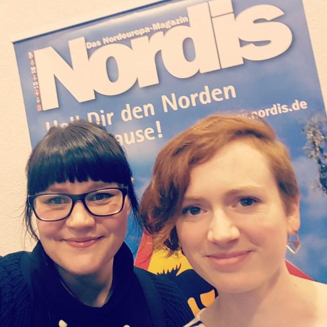 Am NORDIS-Stand mit Silja von fernwehge.de
