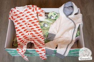 Babybo: Schlafanzug und Winteranzug