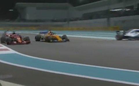 El mejor minuto del año en la F1