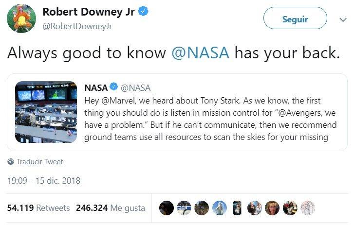 La NASA se ofrece para ayudar