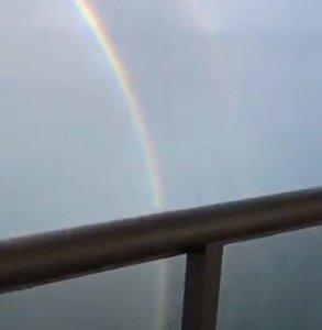 ¿Alguna vez has visto un arco iris completo?