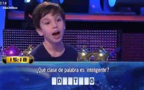 ¿Qué clase de palabra es 'inteligente'?