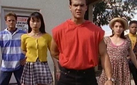Cuando los actores que daban vida a los Power Rangers interpretaban sus propias coreografías sin tirar de dobles