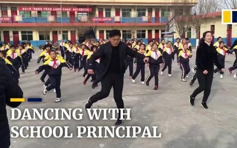 En esta escuela china decidieron que era mejor hacer coreografías en el recreo para promocionar la actividad física, en lugar de actividades sedentarias como mirar el móvil