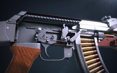 Funcionamiento de un AK47 en 3D
