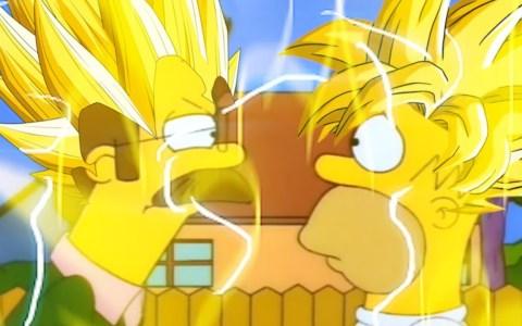 Majin Flanders vs Son-Homer