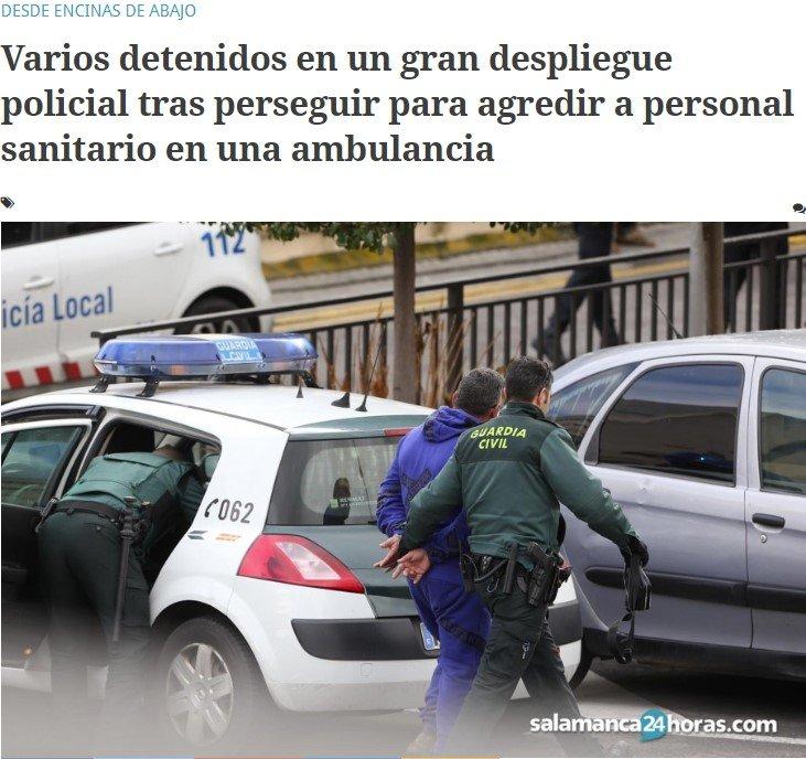 ¿Te imaginas a una ambulancia huyendo de un coche que les persigue para darles una paliza?