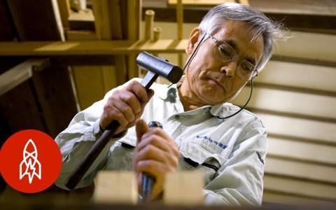 Reparando edificios en Japón sin usar ni un solo clavo