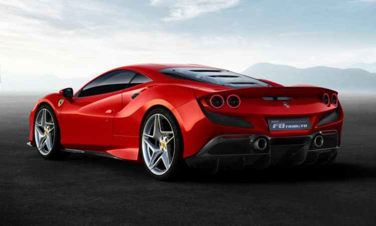 Así será el nuevo Ferrari F8