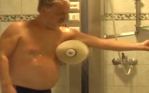 La ducha para vagos