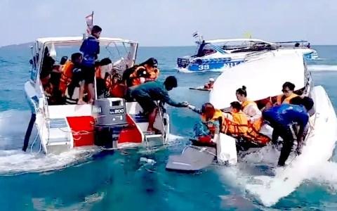 Rescatando a un puñado de histéricos de un barco que se hunde